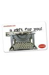 Strand Gift Card - Just Your Type Gift Cards