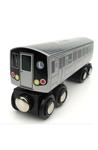 Train: L 14th St Canarsie Local NYC Subway Wooden Car New York Souvenirs